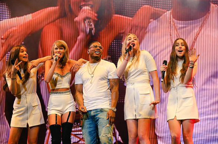 "Taylor Swift ""Hot in Herre"" (ft. Nelly and HAIM) (live video)"