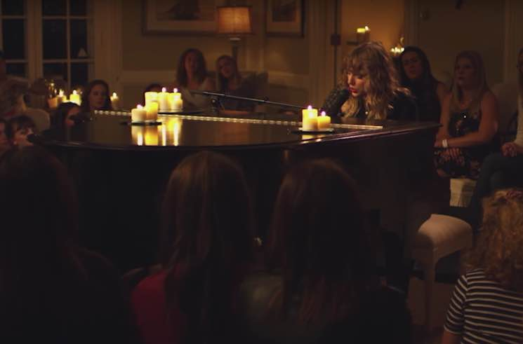 ​Taylor Swift Shares Intimate Performance Video for 'New Year's Day'