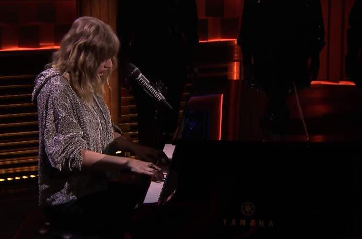 Watch Taylor Swift's Surprise Performance for Jimmy Fallon