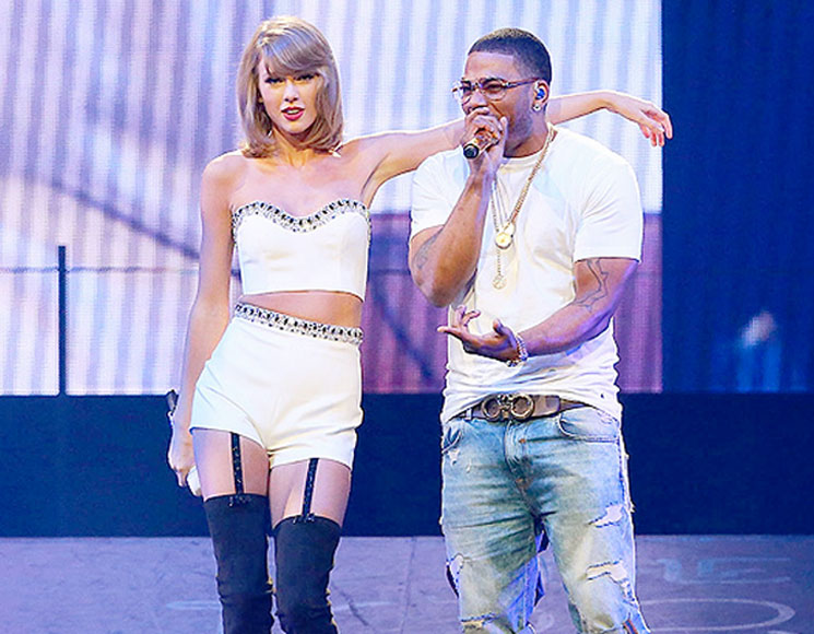 "​Watch Taylor Swift Join Nelly for ""Dilemma"" Duet"