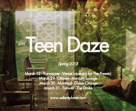 Teen Daze Hits Ottawa, Montreal and Toronto on Mini-Tour