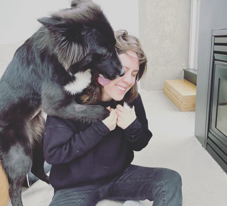 Tegan Quin Explains How Her Dog Georgia Has 'Imploded' Her Life