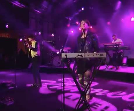 "Tegan and Sara ""Closer"" (live on 'Kimmel')"
