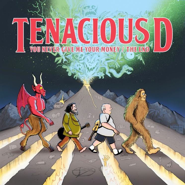 Tenacious D Are Back with Their Very Own Beatles Tribute
