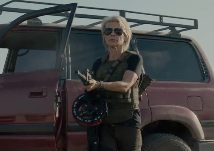 Linda Hamilton and Arnold Schwarzenegger Are Back in the Trailer for 'Terminator: Dark Fate'