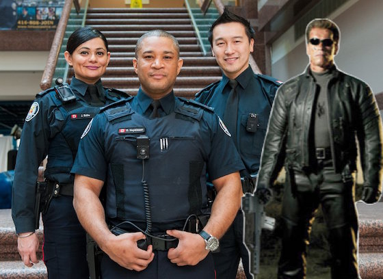 "Toronto Police Discover ""Person with a Gun"" to Be 'Terminator' Cutout"