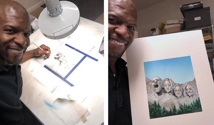 ​Terry Crews Is Actually a Really Great Illustrator