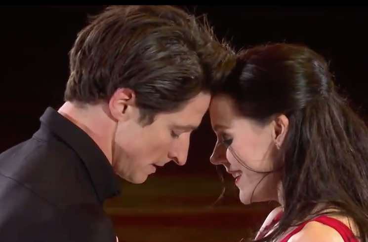 Watch Tessa Virtue and Scott Moir Skate to the Tragically Hip's 'Long Time Running'