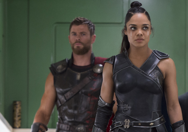 Tessa Thompson and Chris Hemsworth Team Up for 'Men in Black' Spinoff