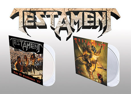 Testament Unveil Vinyl Reissues for 'First Strike Still Deadly' and 'Live at Eindhoven '87'