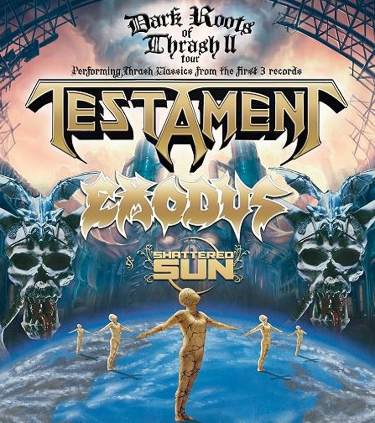 Testament and Exodus Join Forces for North American Tour