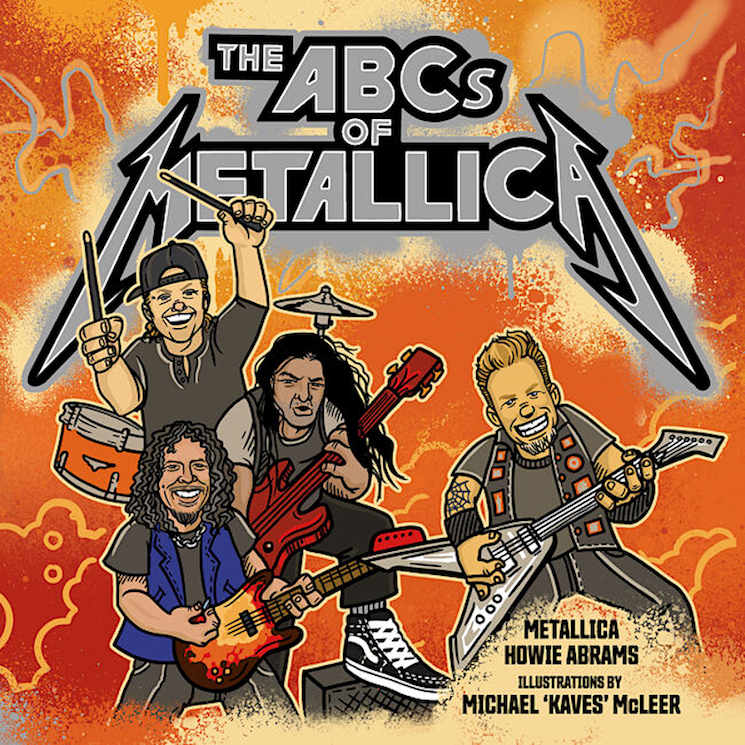 Metallica Are Getting Their Very Own Children's Book