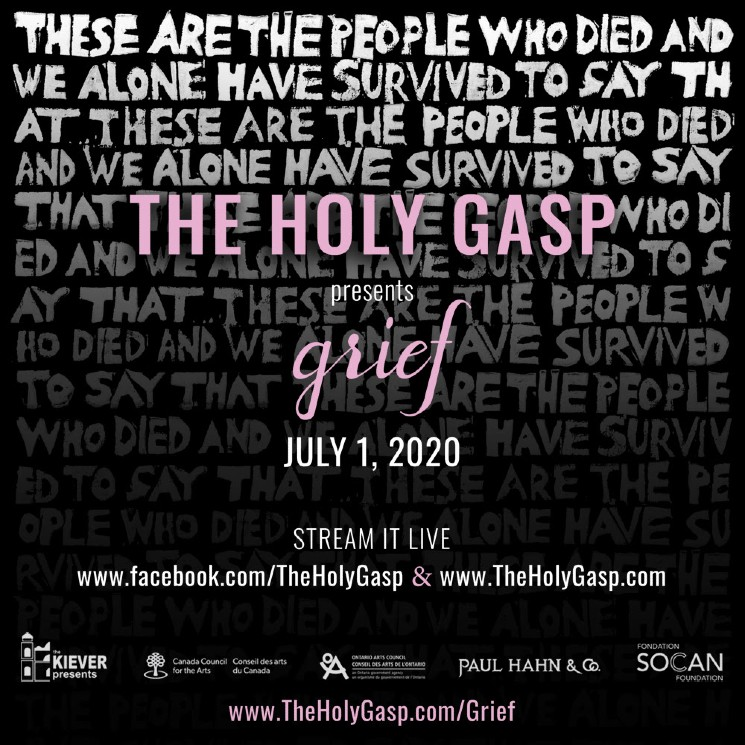 The Holy Gasp Announce Livestreamed Performance Art Piece 'Grief'