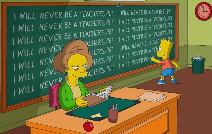 'The Simpsons' Say Goodbye to Mrs. Krabappel with Touching Tribute