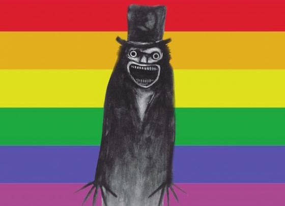 Gay Icon the Babadook Made a Strong Showing at the Los Angeles Pride Parade