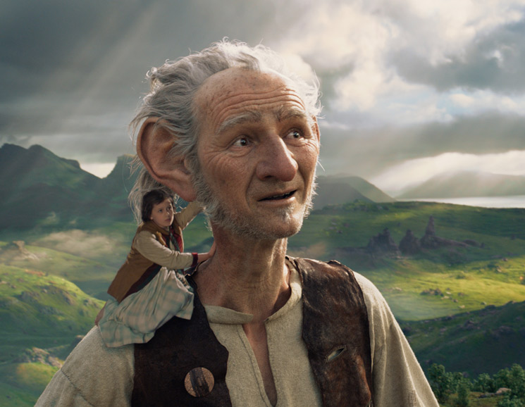 The BFG Directed by Steven Spielberg