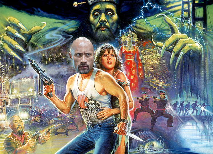 "Dwayne ""The Rock"" Johnson in Talks for 'Big Trouble in Little China'"