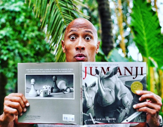 Dwayne 'The Rock' Johnson Promises to Honour Robin Williams with 'Jumanji' Reboot