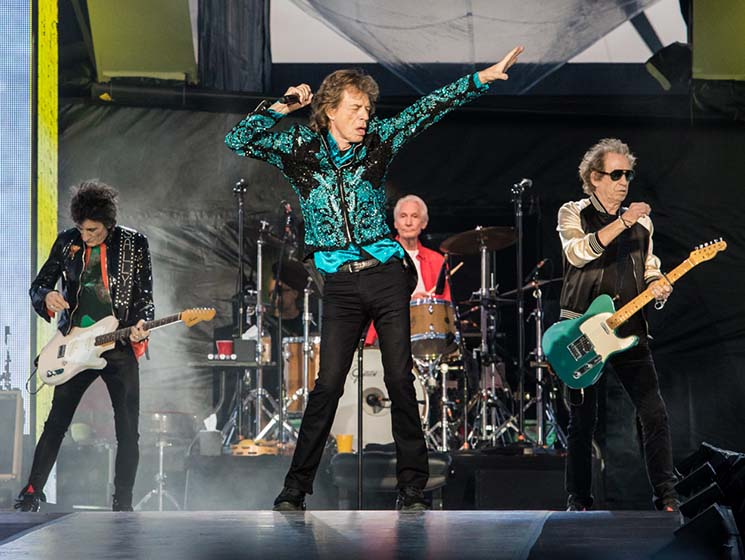 "​Watch the Rolling Stones Cover Bob Dylan's ""Like a Rolling Stone"""