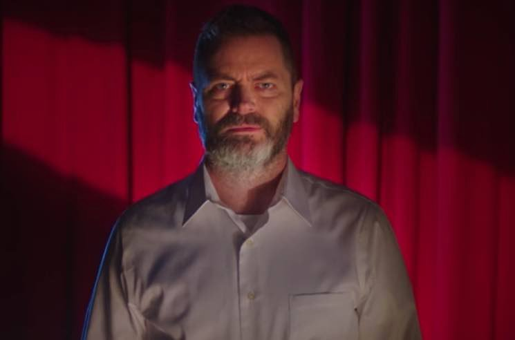 Watch Nick Offerman Get Turned Into a Voodoo Doll in New They Might Be Giants Video