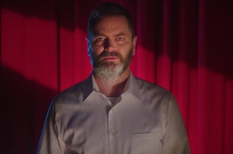 ​Watch Nick Offerman Get Turned Into a Voodoo Doll in New They Might Be Giants Video
