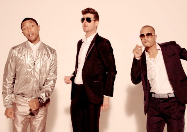 "Robin Thicke and Pharrell Seek Retrial in ""Blurred Lines"" Case"