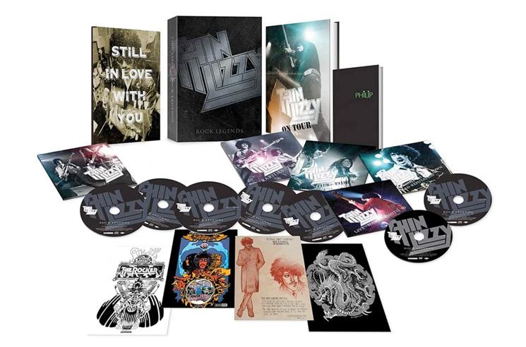 Thin Lizzy Unearth 74 Unreleased Tracks for Massive New Box Set
