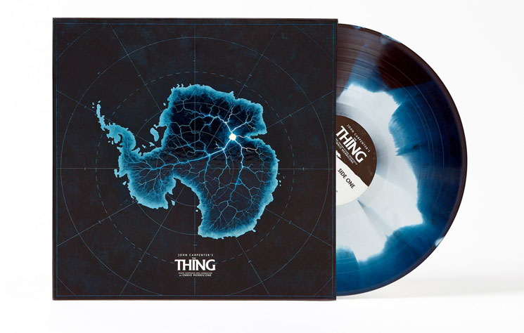 Ennio Morricone's Deluxe Vinyl Reissue of  'The Thing'  Detailed