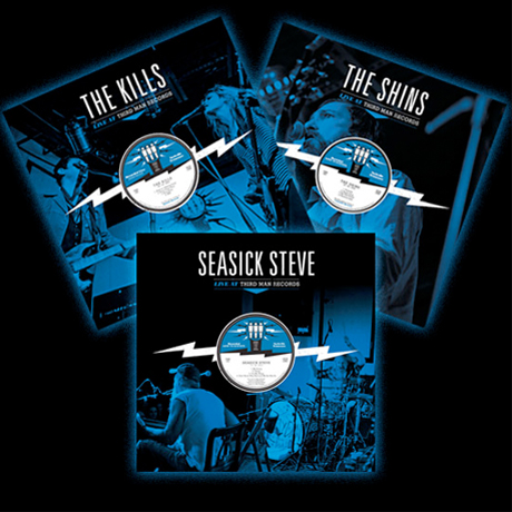 Third Man Records Details Live Albums from the Shins, the Kills, Seasick Steve