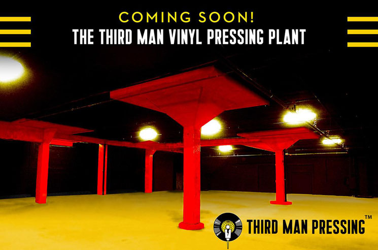 Third Man Records to Open Vinyl Pressing Plant in Detroit
