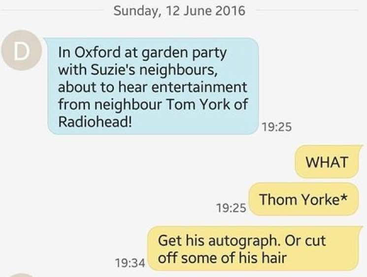 ​Watch Radiohead's Thom Yorke Play at an Oxford Garden Party