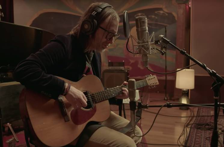 "​Watch Thom Yorke Perform an Acoustic Version of 'Suspiria' Track ""Open Again"""