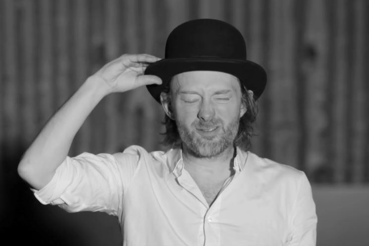 Thom Yorke's 'Lotus Flower' Hat Is Being Auctioned Off for Charity