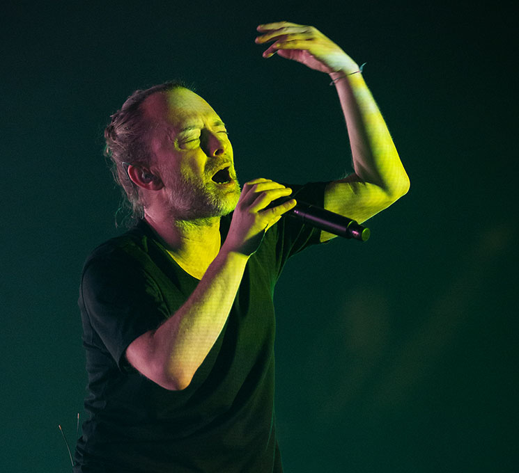 Thom Yorke Scotiabank Arena, Toronto ON, September 27