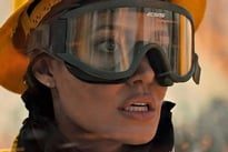 Angelina Jolie Gives a Fiery Performance in 'Those Who Wish Me Dead' Directed by Taylor Sheridan