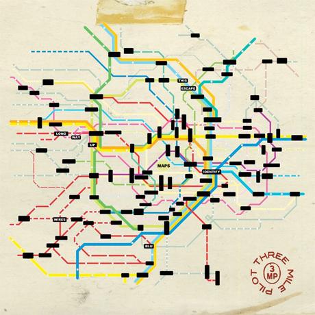Three Mile Pilot Return with 'Maps' EP, Chart West Coast Tour