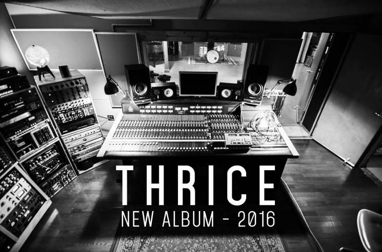 Thrice Confirm New Album for 2016
