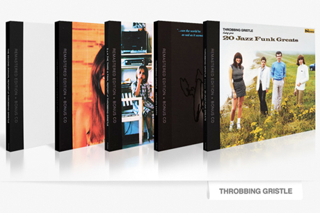 Throbbing Gristle Launch Massive Reissue Campaign