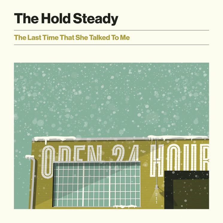 "​The Hold Steady Unveil New Song ""The Last Time She Talked to Me"""