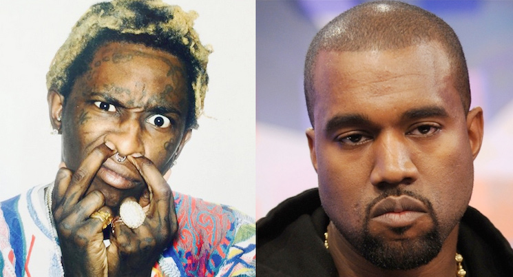 Kanye West Reportedly Making an Album with Young Thug