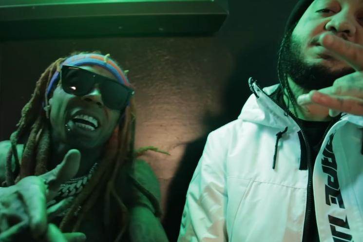 Lil Wayne Gets Jay Jones and Gudda Gudda for 'Thug Life'