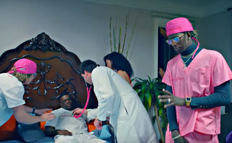 "Young Thug ""F Cancer (Boosie)"" (ft. Quavo) (video)"