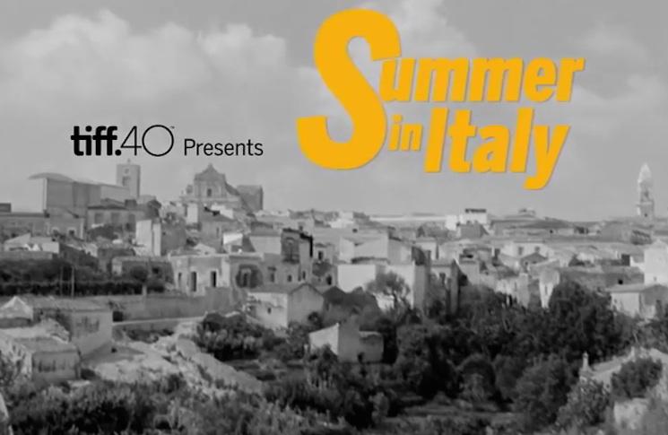 TIFF Details 'Summer in Italy' Series, Vittorio De Sica Retrospective