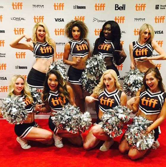 TIFF's Closing Party Criticized for Use of Scantily Clad Cheerleaders