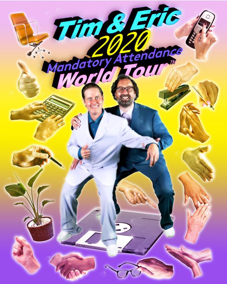 Tim and Eric Unveil 'Mandatory Attendance World Tour'