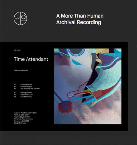 Vancouver's More Than Human Label Lines Up New Releases from Time Attendant and Dieter Moebius