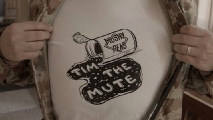 Tim the Mute 'Mushy Peas' (video)