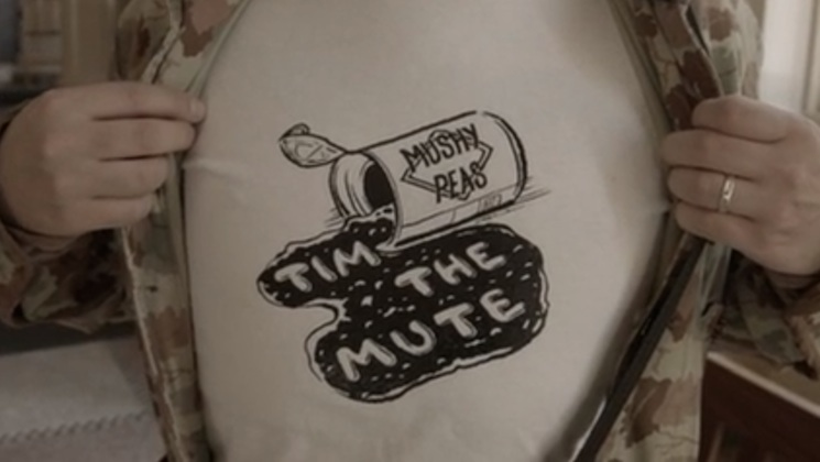 "Tim the Mute ""Mushy Peas"" (video)"