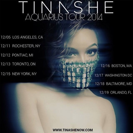 Tinashe Books North American Winter Tour, Plays Toronto