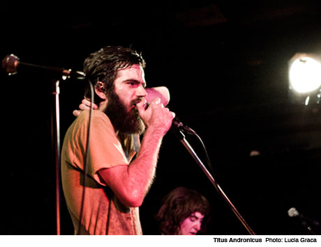 Titus Andronicus' Patrick Stickles Gets Electrocuted, Blasts Kurt Vile